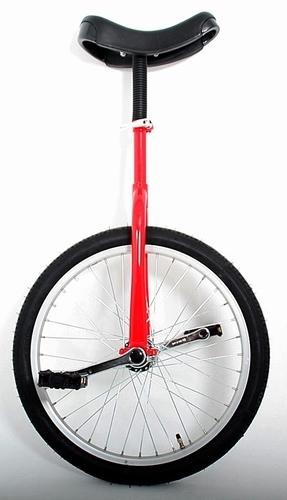 Eenwieler 20 inch rood