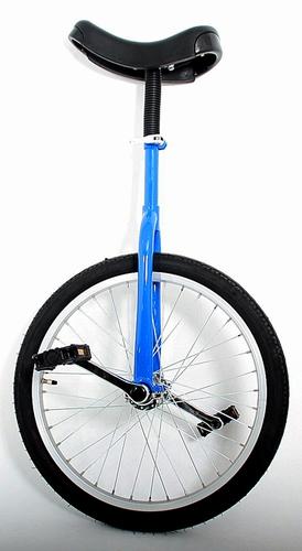 Eenwieler 20 inch blauw