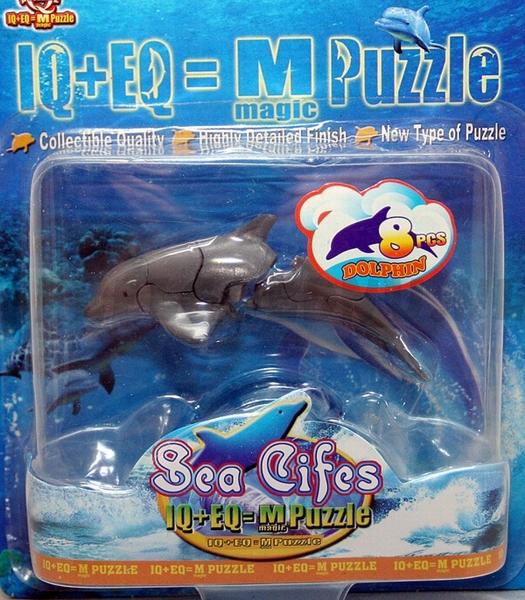 3D Puzzel Dolfijn