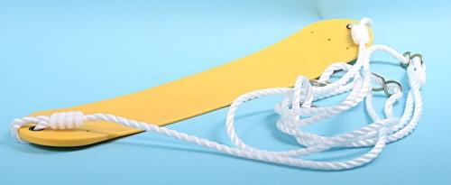 Flexibele schommel geel